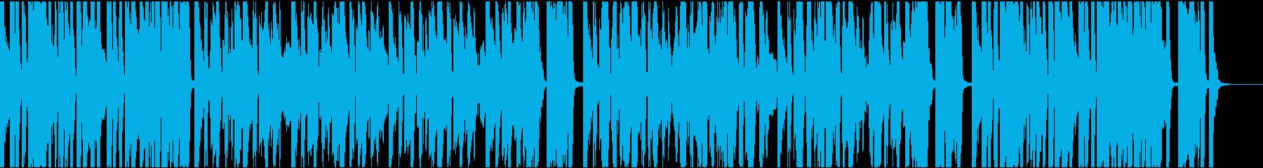 9秒でサビ、インパクト、イケイケの再生済みの波形