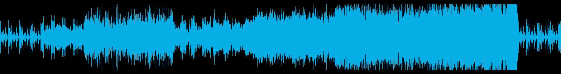 ティンパニーのリズムのオーケストラの再生済みの波形