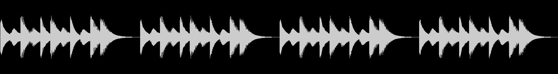 スマホ風着信音その1の未再生の波形
