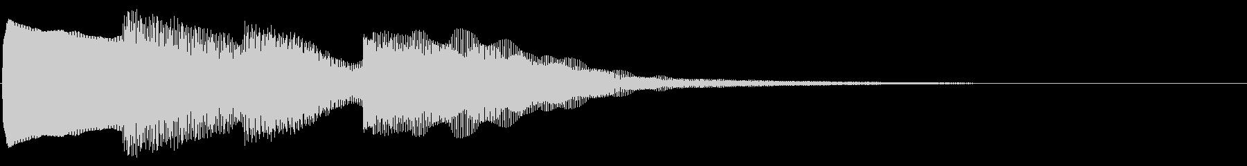 ピンポンパンポン01-1の未再生の波形