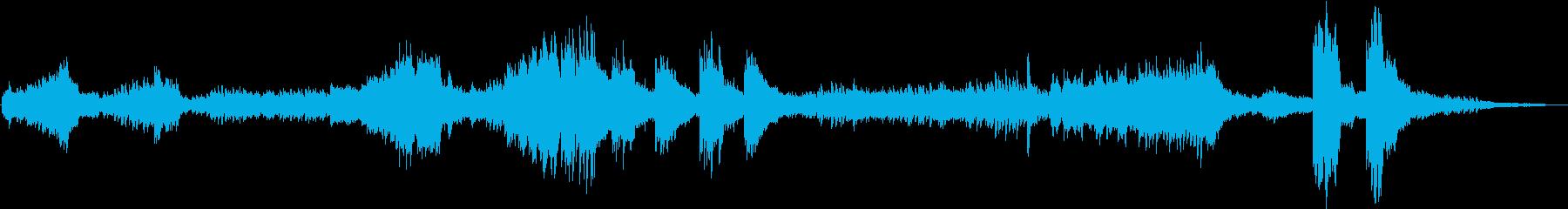 ショパン エチュード Op10 No9の再生済みの波形