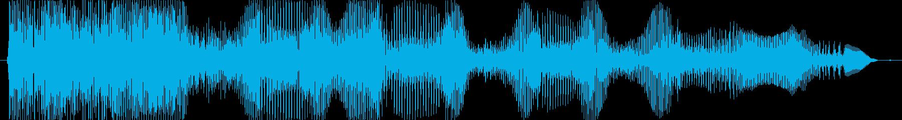 あはははっ♪の再生済みの波形