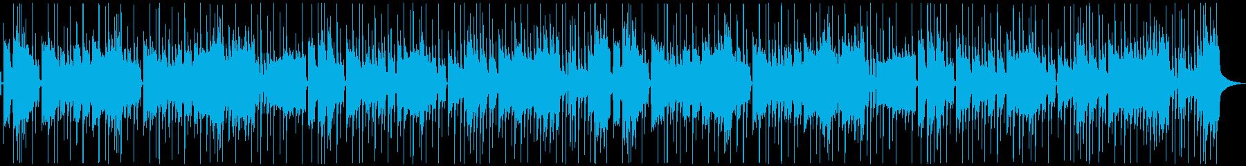 ノリノリ・ファンキー(メロあり)2ループの再生済みの波形