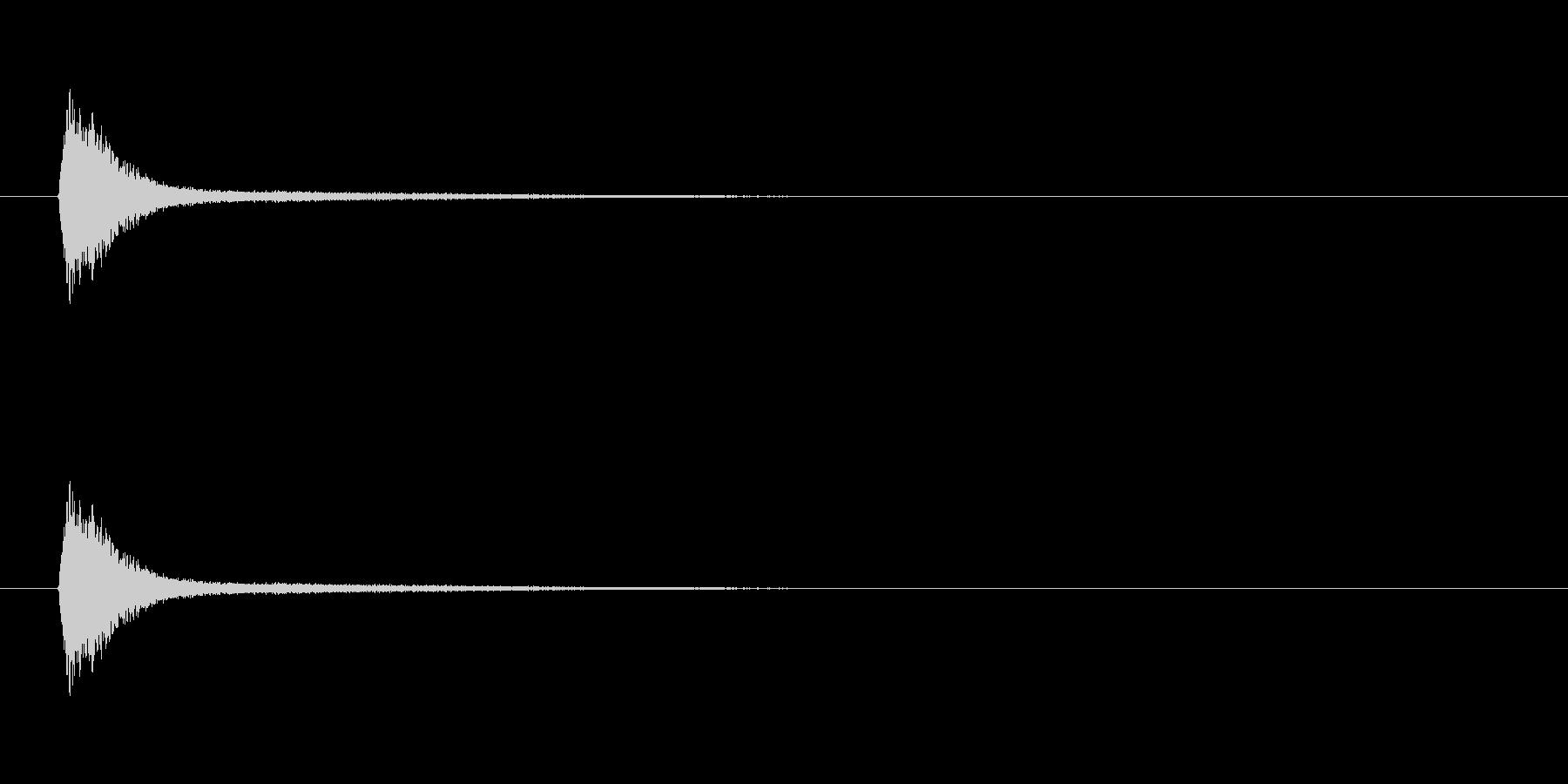 【風船 破裂01-1】の未再生の波形