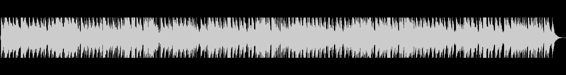 アコースティックなボサノバの未再生の波形