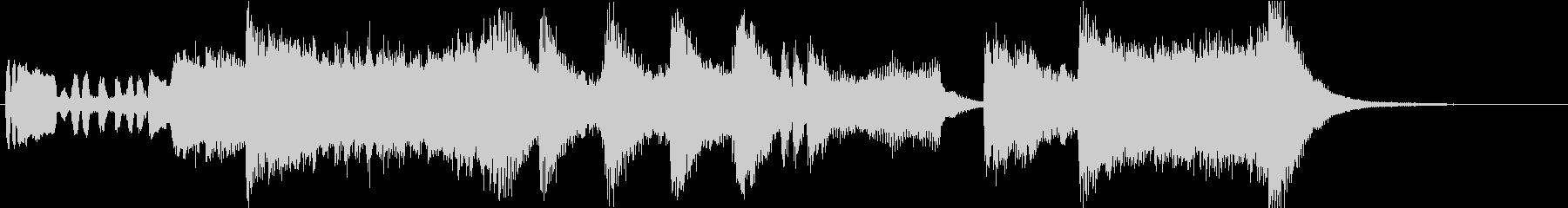 オーケストラによるファンファーレ01の未再生の波形
