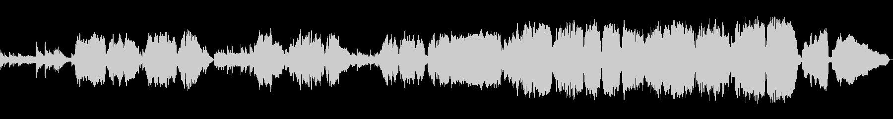 生演奏《ユーフォニウムの懐かしい曲 感動の未再生の波形