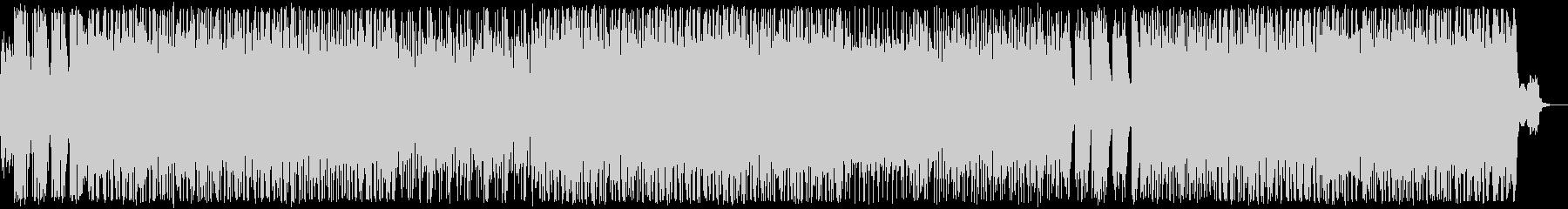 鈍重、激しい、悪そうなゴリゴリロックの未再生の波形