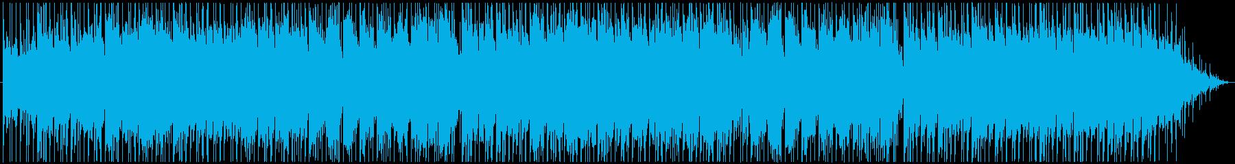 和太鼓の効いた田舎をイメージした和風楽曲の再生済みの波形