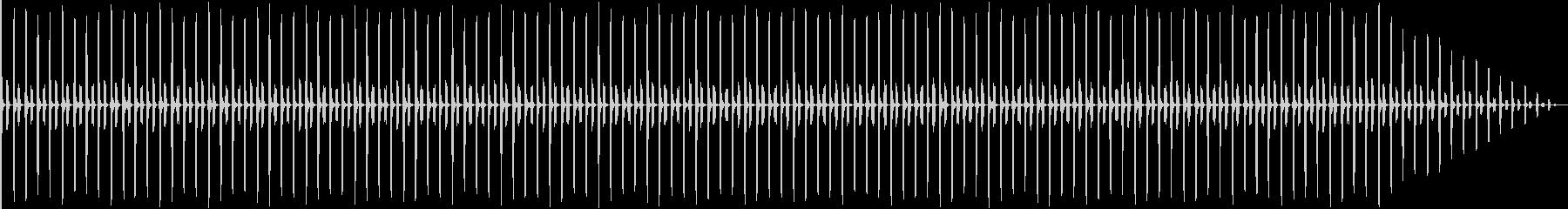 子供が走る足音 01の未再生の波形