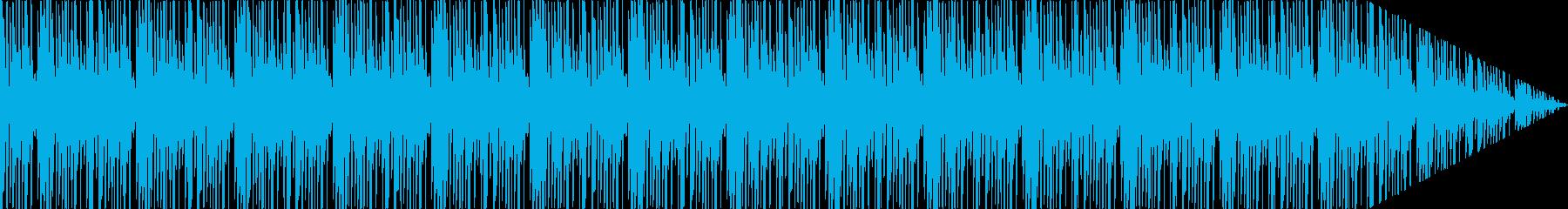 ループ。ジャングルドラムループとシ...の再生済みの波形
