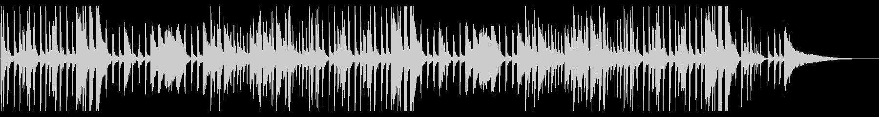 アンニュイ・アドリブ風・ジャズ・ピアノの未再生の波形