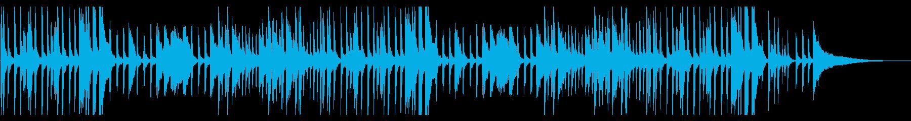 アンニュイ・アドリブ風・ジャズ・ピアノの再生済みの波形