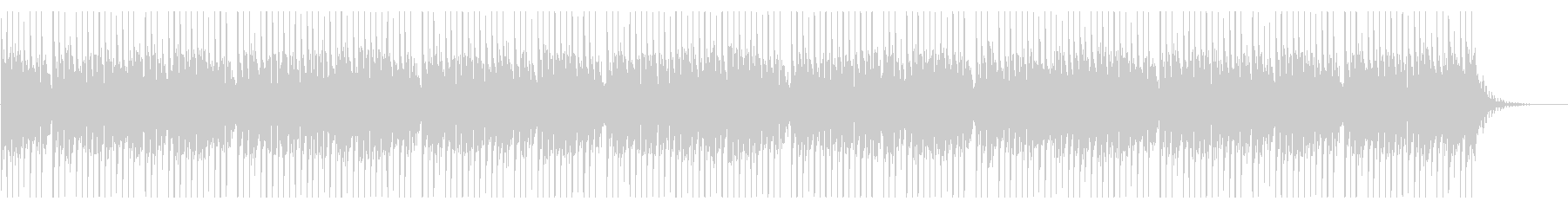 怒れる壮大なドラムソロの未再生の波形