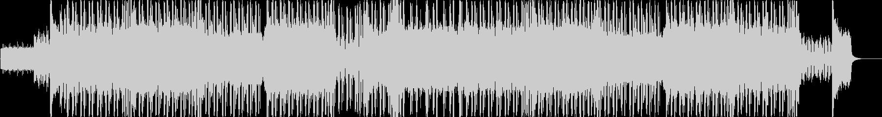ギターとシンセがゴリゴリなドラムンベースの未再生の波形