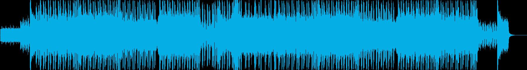 ギターとシンセがゴリゴリなドラムンベースの再生済みの波形