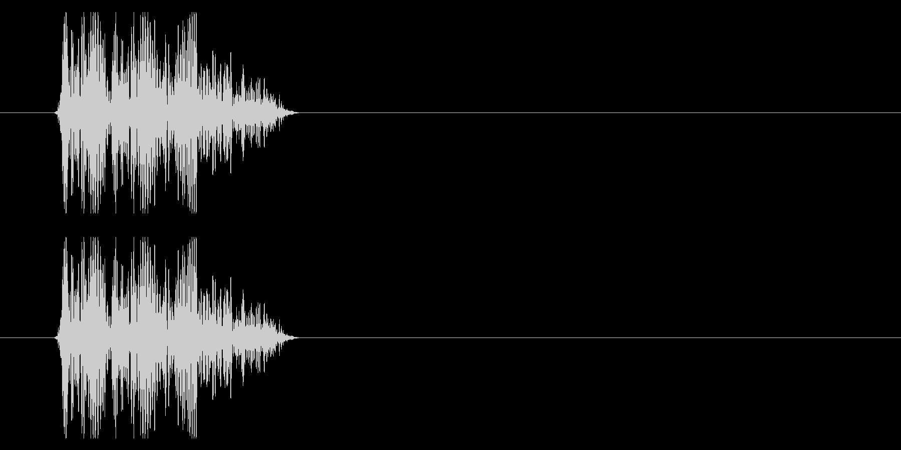 SNES 格闘05-09(倒れる)の未再生の波形