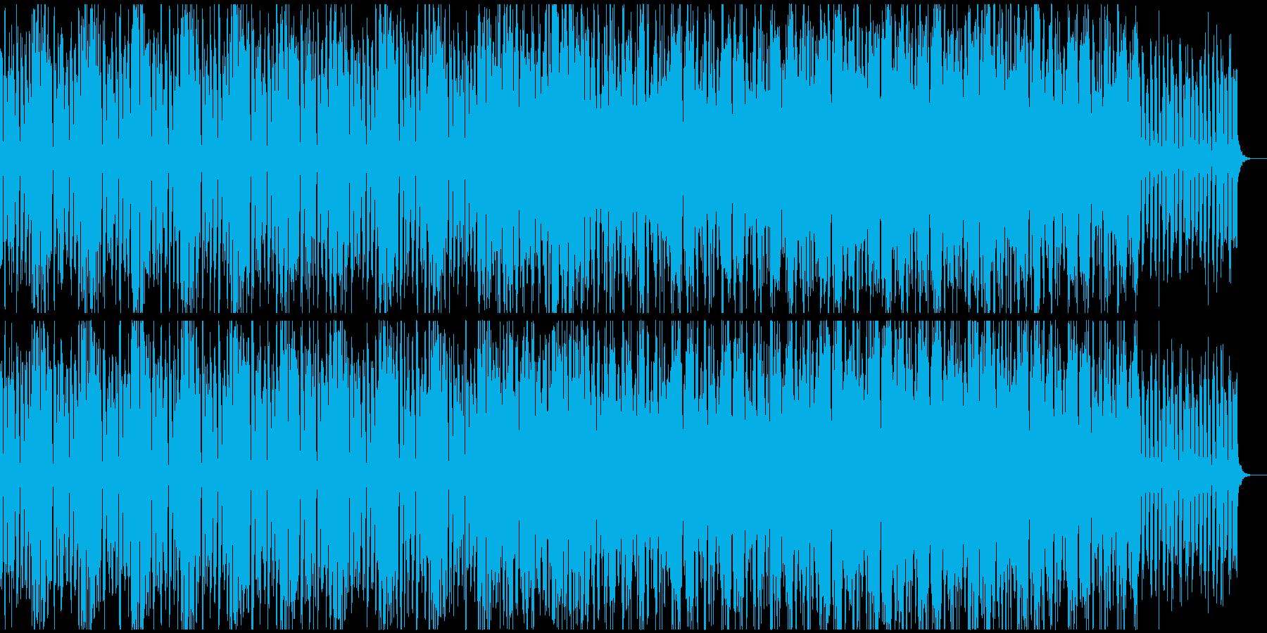ロボ(機械,AI)ティックなテクノの再生済みの波形