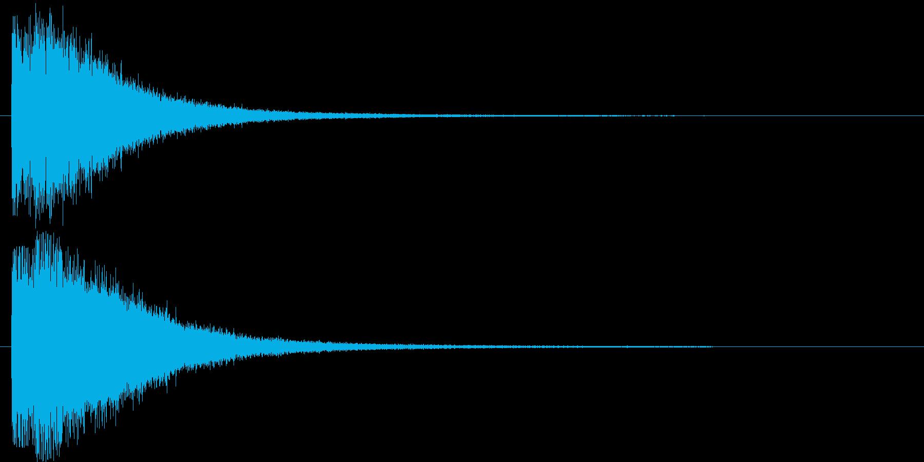 ズジャーンの再生済みの波形
