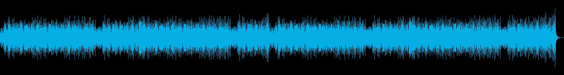 映像やCMに。かわいいコミカルなBGMの再生済みの波形