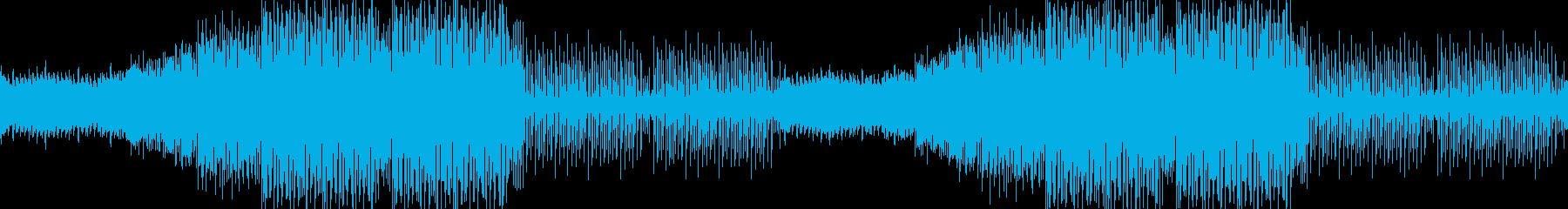 爽やかアコギ・明るい疾走感スポーツEDMの再生済みの波形