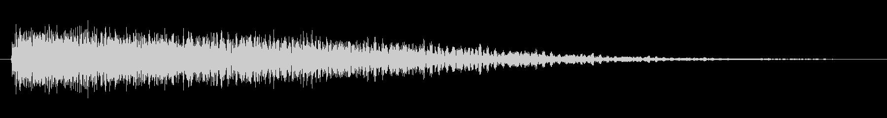 素材 ドリームピアノ01の未再生の波形