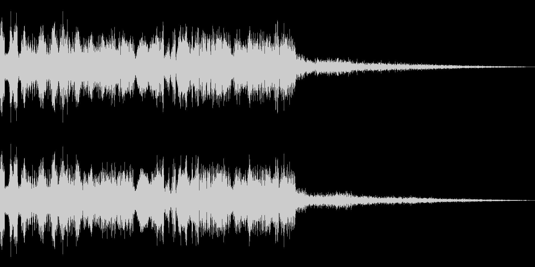 メニュー画面音(ウインドウ,決定等)12の未再生の波形