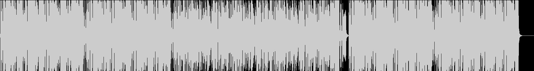 クッキング、サックス、コミカル/カラオケの未再生の波形