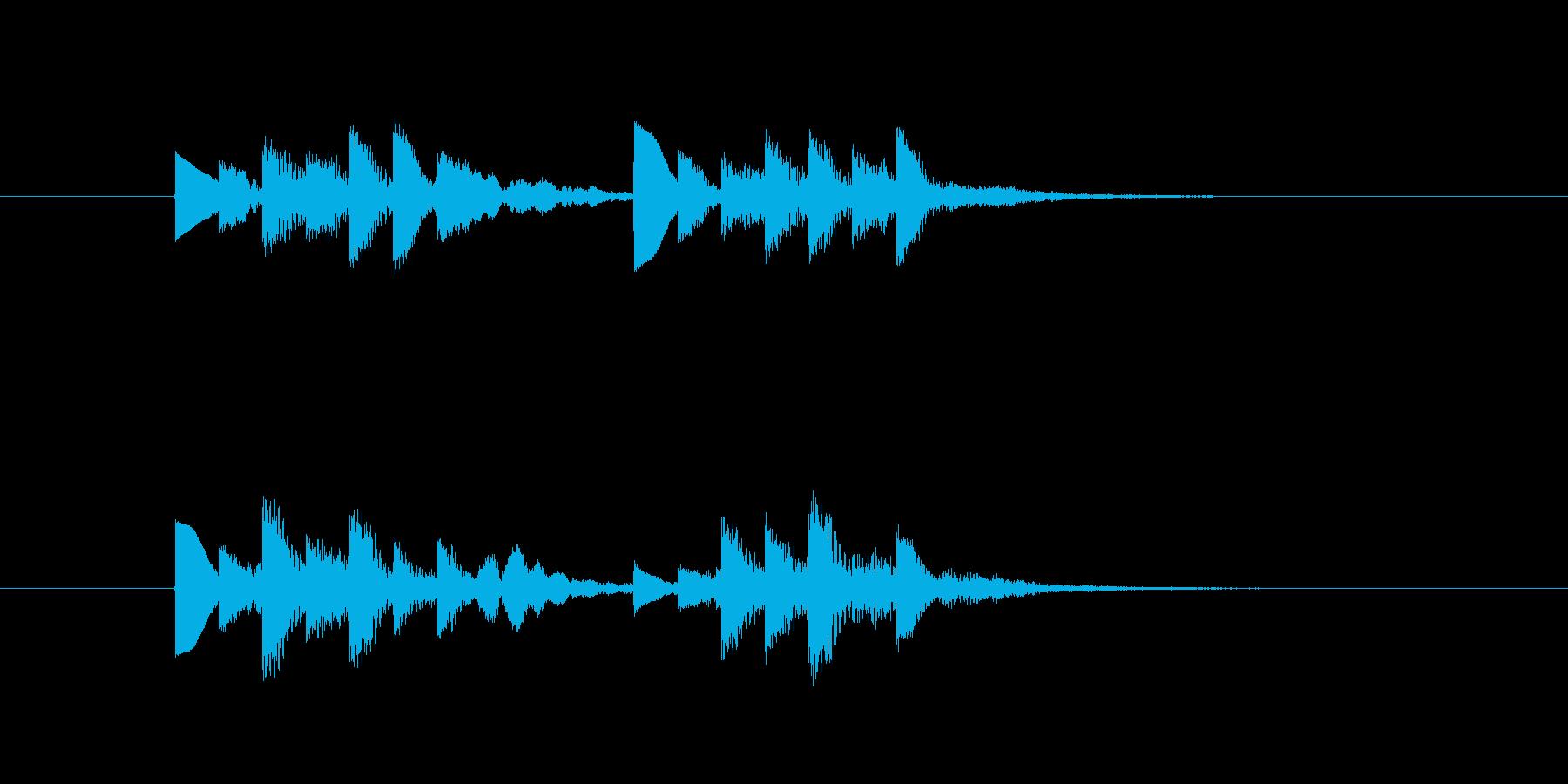 臨時ニュース【速報】の再生済みの波形