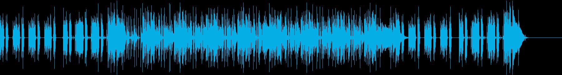 ほのぼの・コミカル・劇伴・ファンクの再生済みの波形