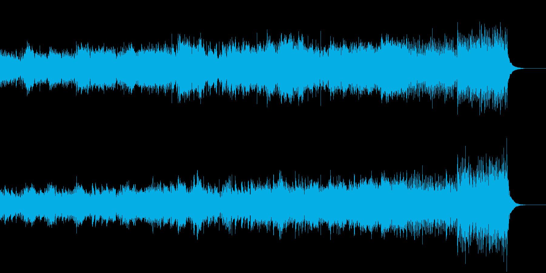 ピアノとストリング〜湖畔と森オープニングの再生済みの波形