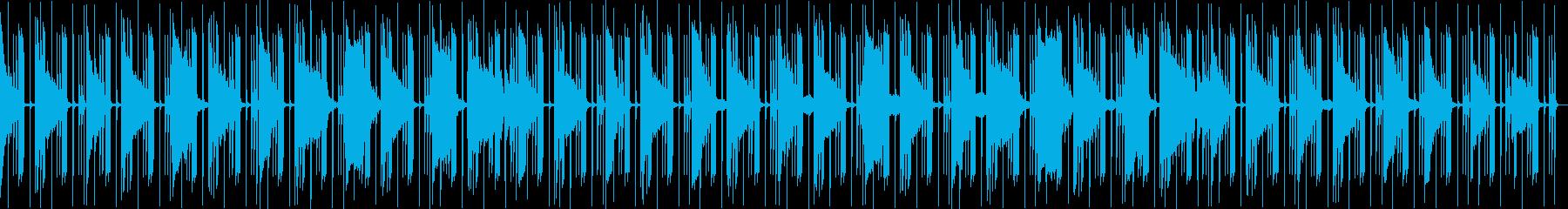 和風お琴篠笛のR&B beats の再生済みの波形