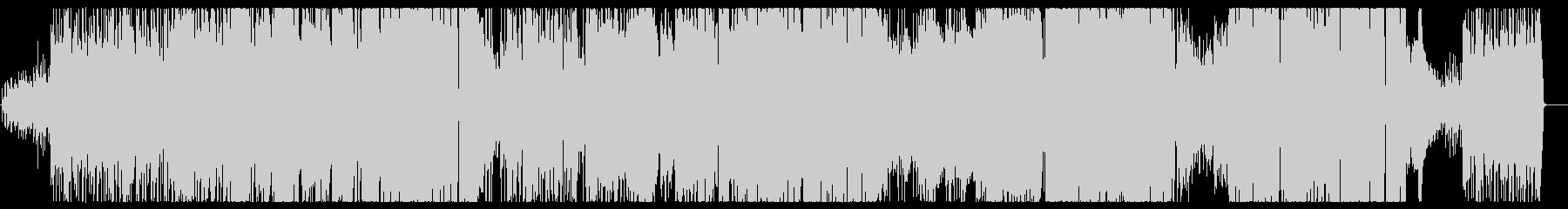 キュートで小悪魔チックなファンクロックの未再生の波形