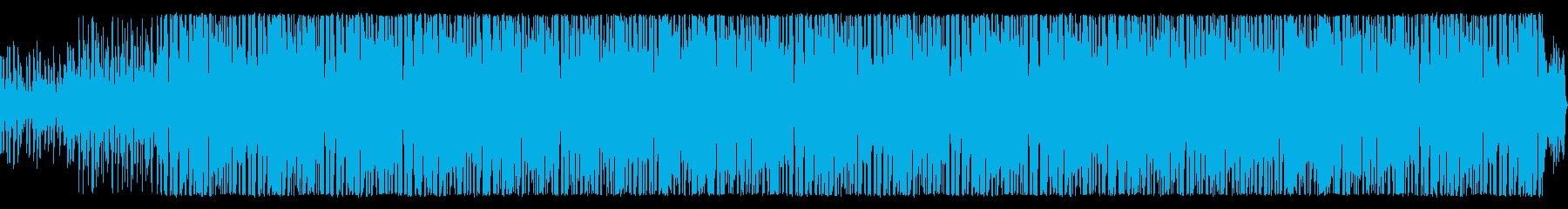 サウスミュージック。ラテンの再生済みの波形