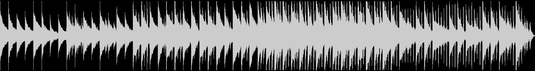 Gentle piano ambient's unreproduced waveform