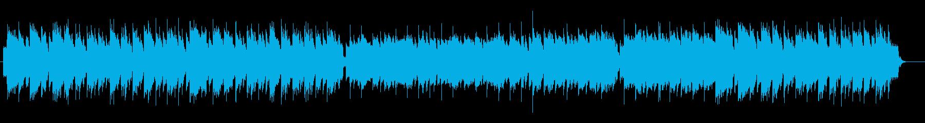 おとぎの世界のようなBGMの再生済みの波形