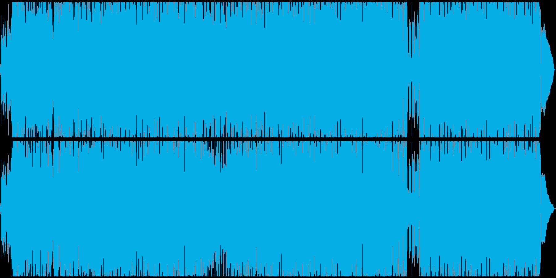 王道的なギターロックの再生済みの波形