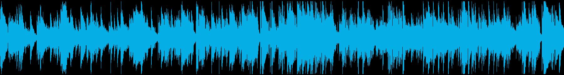 くつろいだ雰囲気の大人バラード※ループ版の再生済みの波形
