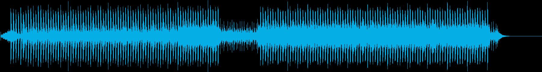 リフレインとビートの落ち着いたポップスの再生済みの波形