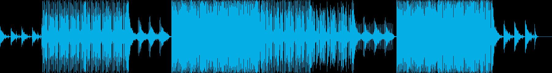 ハロウィン/ウイルス/悪魔的なBGMの再生済みの波形