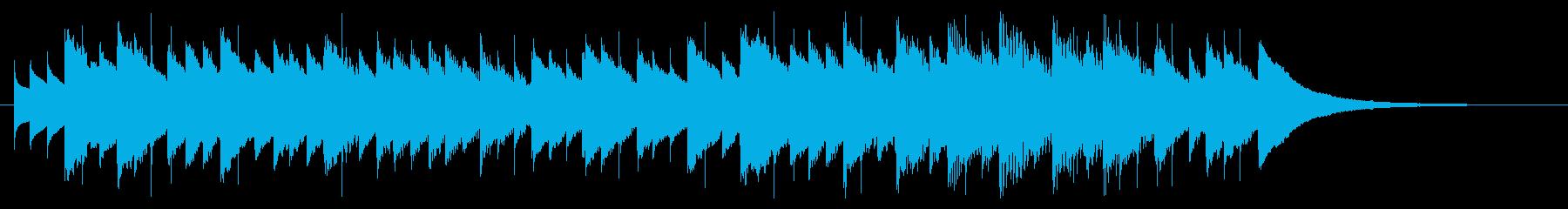 バッハ「主よ人の望みの喜びよ」オルゴールの再生済みの波形