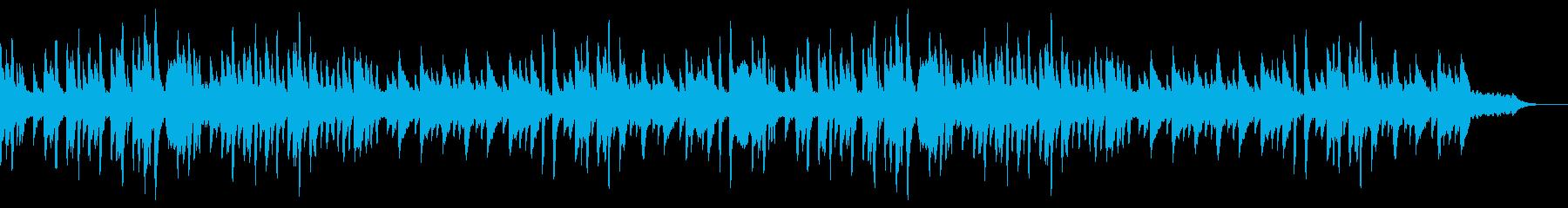 和風のBGMの再生済みの波形