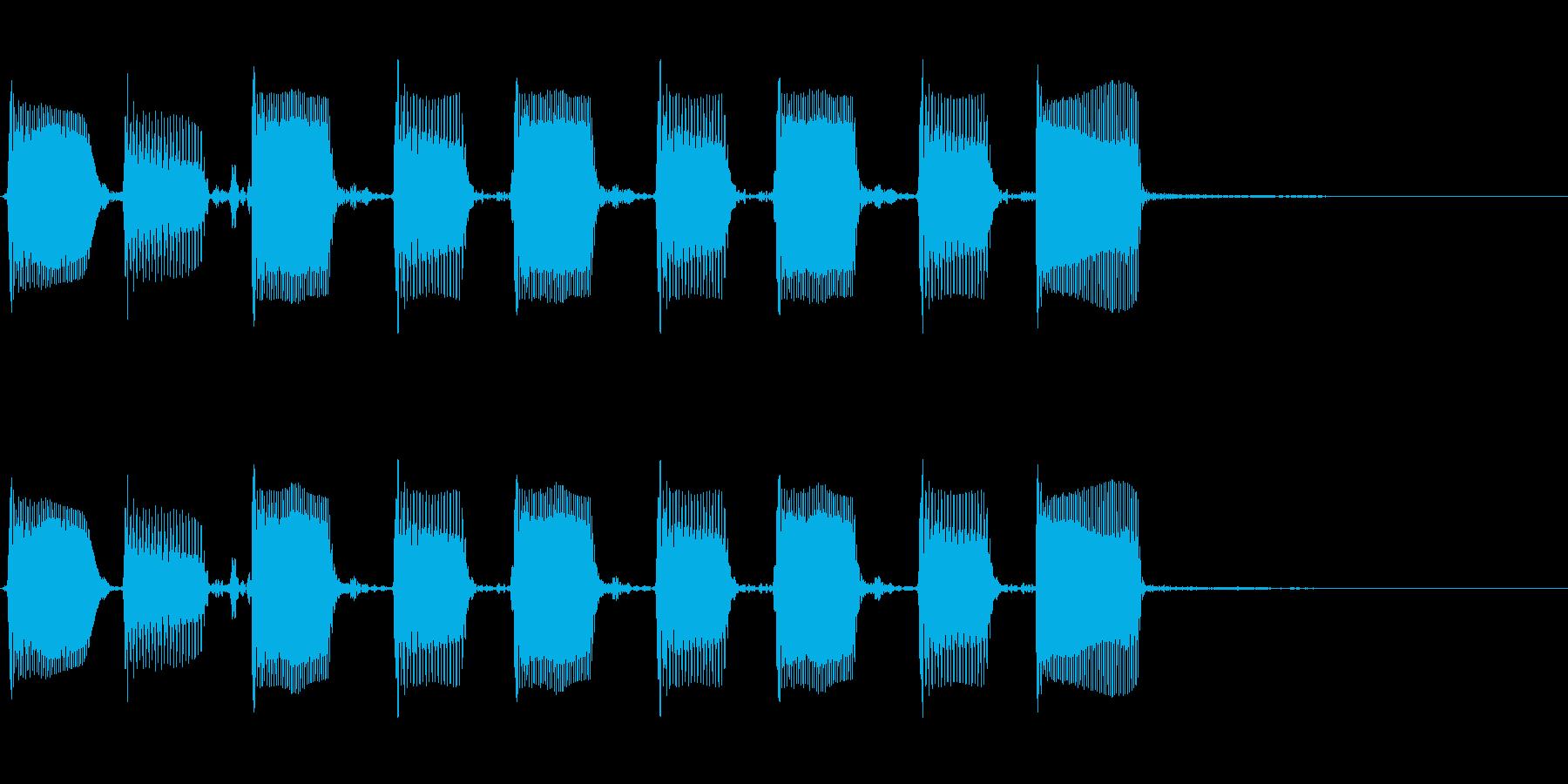 エレクトリックベース:ツートーンア...の再生済みの波形
