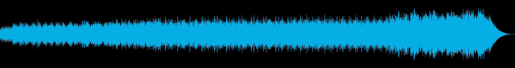 アジアンで儀式的な雰囲気のサウンドの再生済みの波形