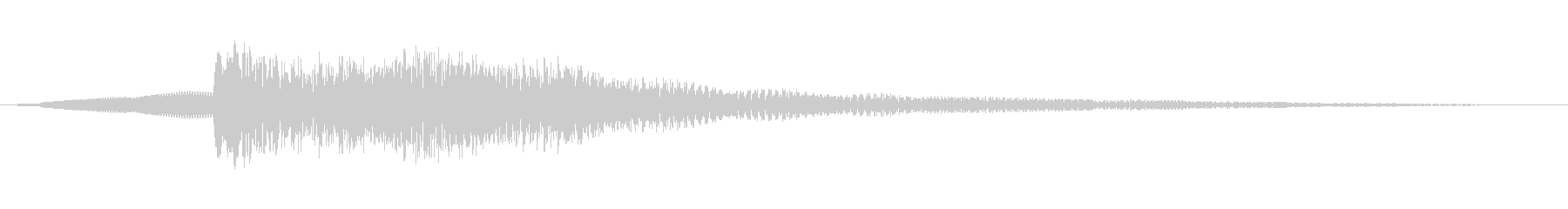 オリエンタルキッチン、ガムランベル...の未再生の波形