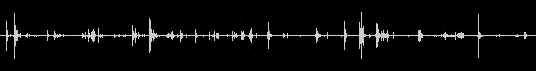 メタル プレートへこみ処理03の未再生の波形