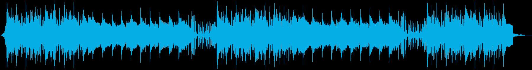 アコーディオンと笛がメインの村BGMの再生済みの波形