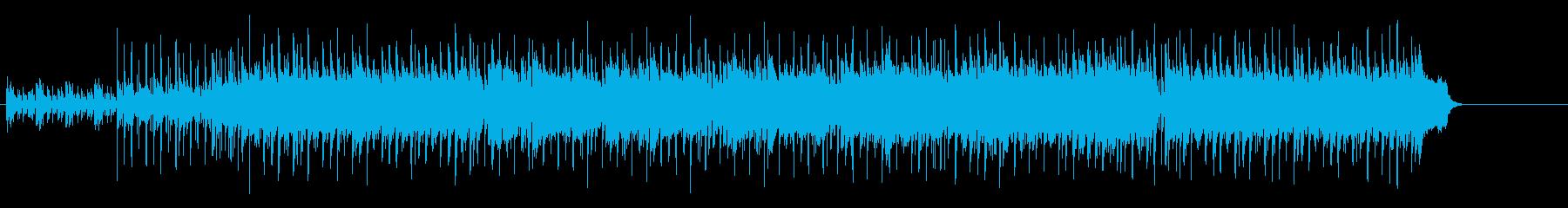 ジャズとソウルがかみ合ったアシッドジャズの再生済みの波形