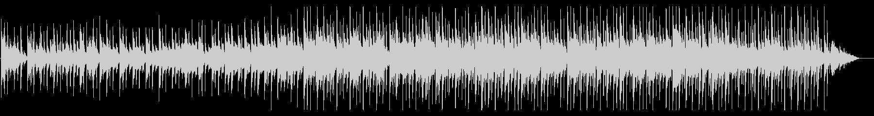 ハッピーバースデーのBGMの未再生の波形