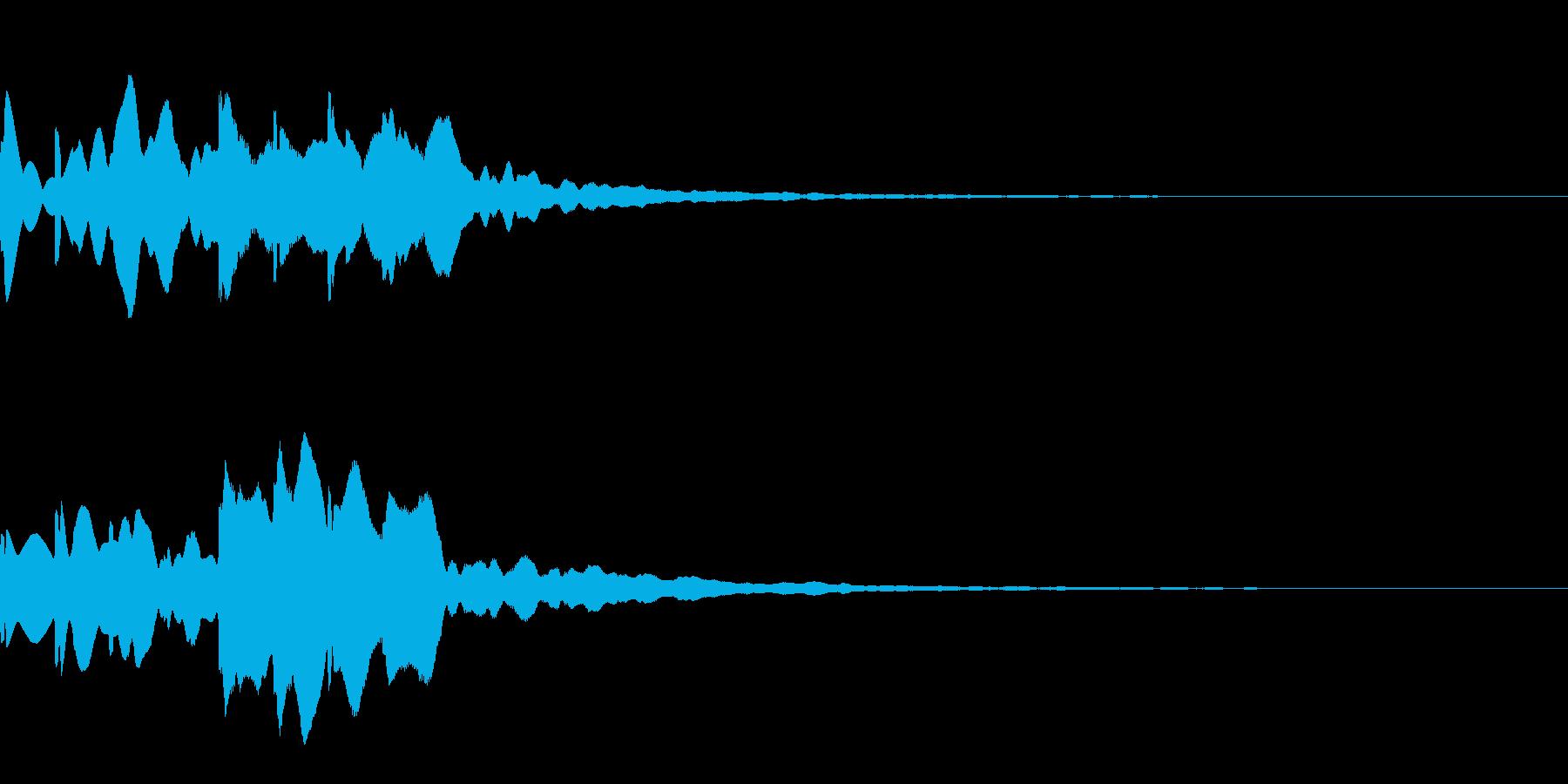 News ニュース番組のトピックSE 7の再生済みの波形